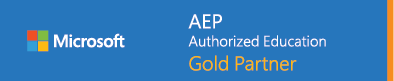 Microsoft Authorized Education Gold Partner
