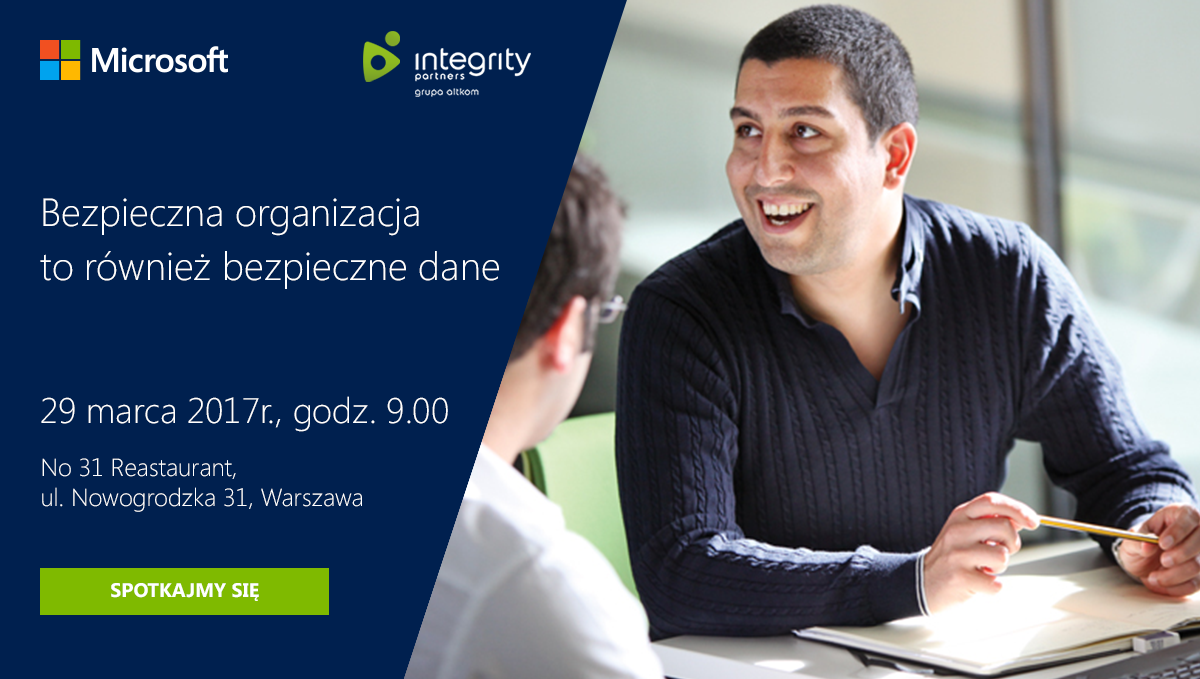 Zaproszenie Azure & Advanced Threat Protection